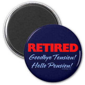 Retirado: ¡Adiós pensión de la tensión hola! Iman De Frigorífico