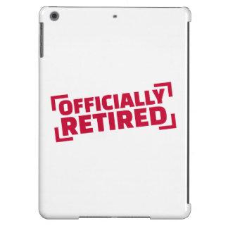 Retirado oficialmente funda para iPad air