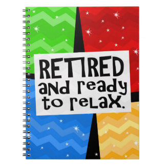 Retirado y aliste para relajarse retiro divertido