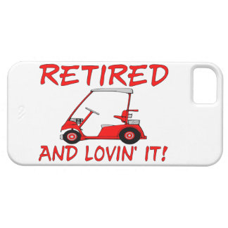 Retirado y Lovin él iPhone 5 Funda