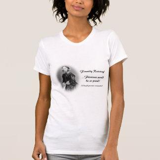 Retirar humor del usignuolo de Enfermera-Florencia Camiseta