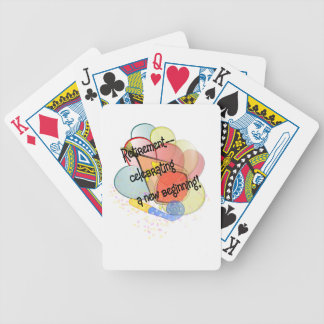 retire3 bicycle playing cards
