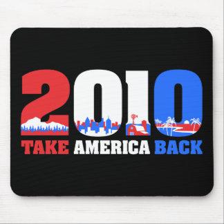 Retire América 2010 Alfombrillas De Ratón