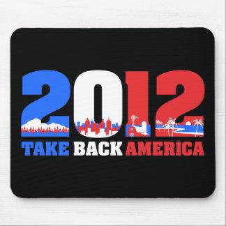 Retire América 2012 Alfombrilla De Ratón