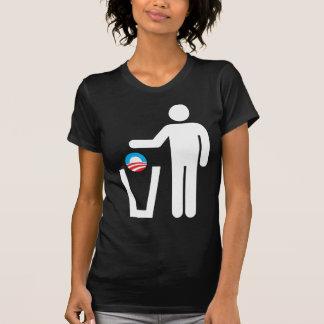 ¡Retire América! Descargue a Obama Camiseta