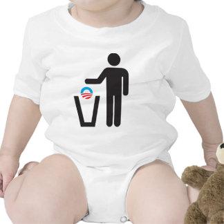 ¡Retire América! Descargue a Obama. Trajes De Bebé