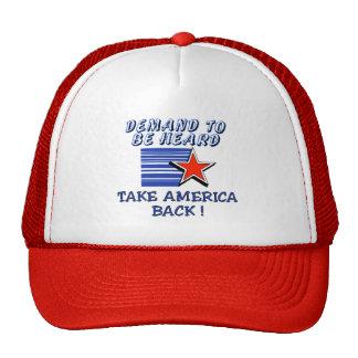 Retire América Gorros
