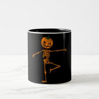 Retire Ballet Position Two-Tone Coffee Mug
