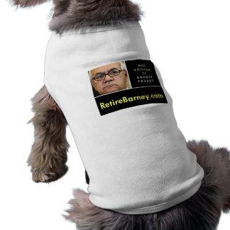 Retire Barney Doggie Shirt