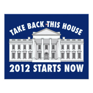 Retire la Casa Blanca Anuncio Personalizado
