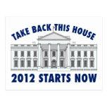 Retire la Casa Blanca Tarjeta Postal