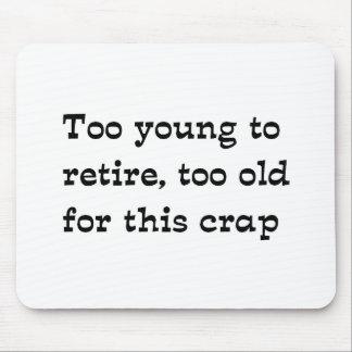 Retire Mouse Pad