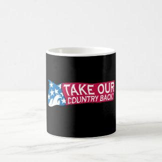 Retire nuestro país tazas