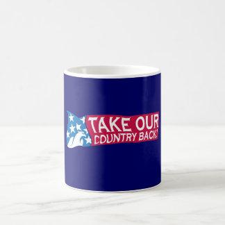 Retire nuestro país taza