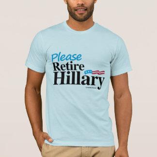 Retire por favor a Hillary Playera