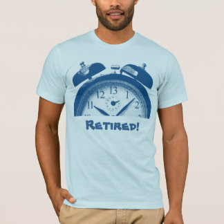 Retired: 13 Hours Blue T-Shirt