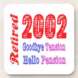 Retired 2002 , Goodbye Tension Hello Pension Coaster