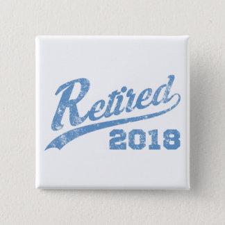 Retired 2018 Vintage Pinback Button