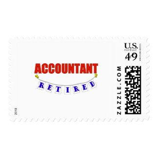 RETIRED ACCOUNTANT POSTAGE