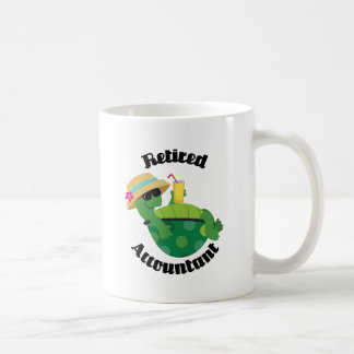 Retired Accountant (Turtle) Coffee Mug