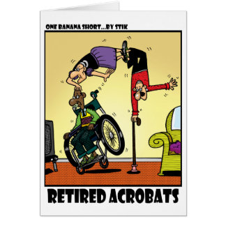 Retired Acrobats Cards