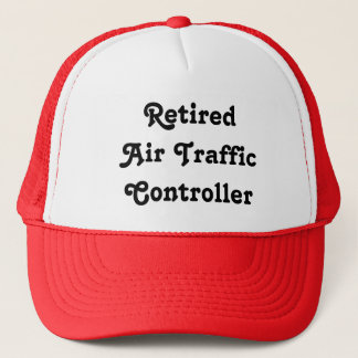 Retired Air Traffic Controller Trucker Hat
