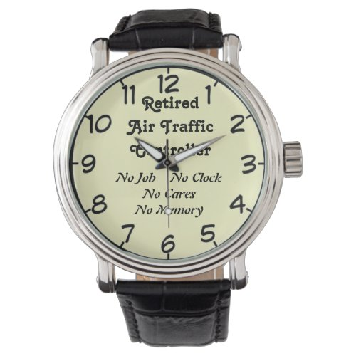 Retired Air Traffic Controller Wrist Watches