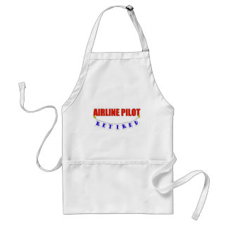 RETIRED AIRLINE PILOT ADULT APRON