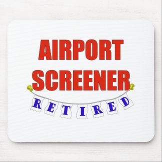 RETIRED AIRPORT SCREENER MOUSE PAD