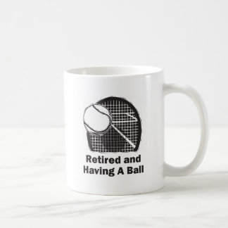 Retired and Having a Ball Coffee Mug