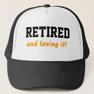 Retired and loving it cap/ hat