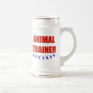RETIRED ANIMAL TRAINER 18 OZ BEER STEIN