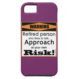Retired, Approach At Risk iPhone SE/5/5s Case