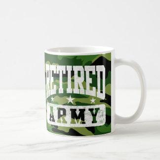 Retired Army Coffee Mug