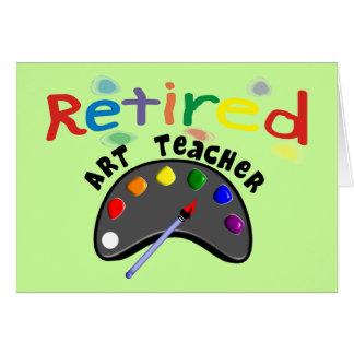 Retired Art Teacher Cards & Gifts