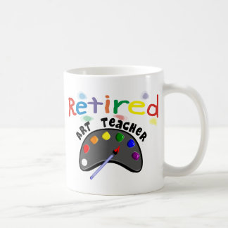 Retired Art Teacher Cards & Gifts Coffee Mug