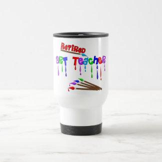 Retired Art Teacher Gifts Travel Mug