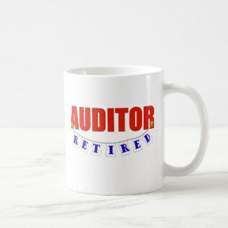 RETIRED AUDITOR COFFEE MUG