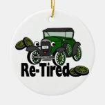 ReTired Automobile Ornament