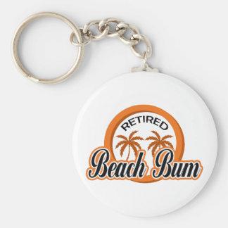RETIRED BEACH BUM KEY CHAINS