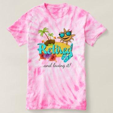 Beach Themed Retired Beach T-shirt