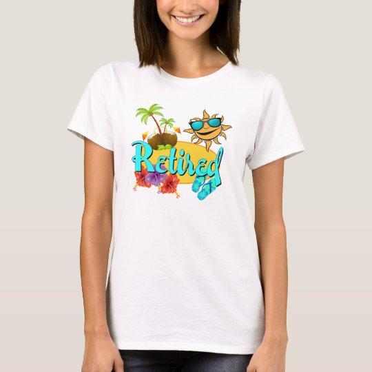 4b44fe94f Retired Beach T-Shirt | Zazzle.com