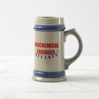 RETIRED BIOCHEMICAL ENGINEER COFFEE MUGS