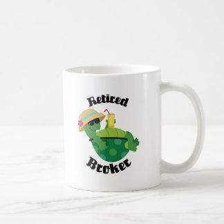 Retired Broker (Turtle) Coffee Mug