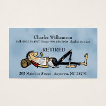 Retired - Business Card - RipVanWinkle image