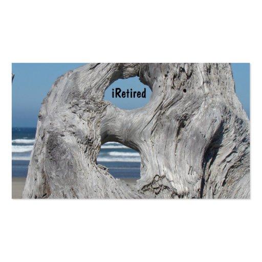 Retired Business Cards iRetired Retirement Ocean