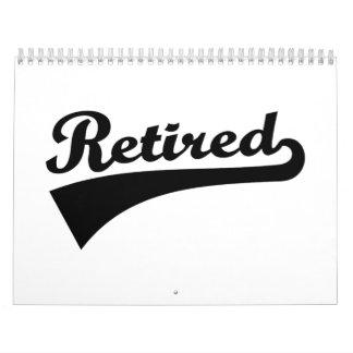 Retired Calendar