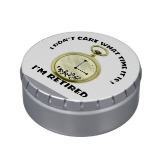 Retired Candy Tin