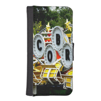 Retired Carnival Ride iPhone SE/5/5s Wallet Case