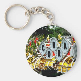 Retired Carnival Ride Keychain